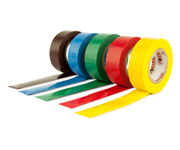 FITA ISOLANTE PVC ANTI-CHAMA 5 MTS COLOR