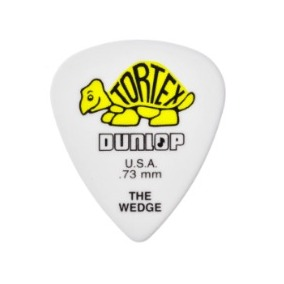 PALHETA TORTEX WEDGE 0.73MM DUNLOP