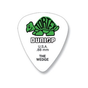 PALHETA TORTEX WEDGE 0.88MM DUNLOP