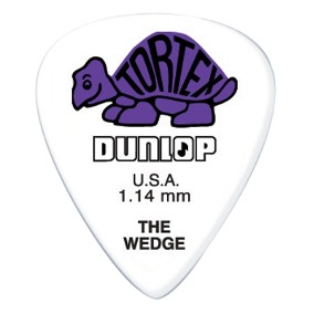 PALHETA TORTEX WEDGE 1.14MM DUNLOP