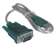 CABO CONVERSOR RS-232 - USB 1,80MTS